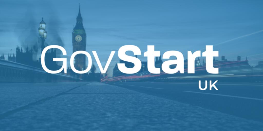GovStart UK Logo (London in Background)
